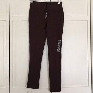 NWT 9th and Main Brown dress pants
